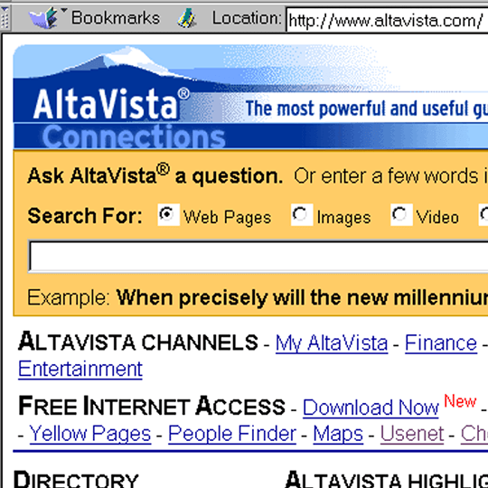 Alta Vista Featured Image